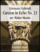 Canzon in Echo #23