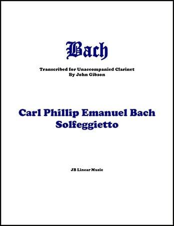 Solfeggietto for Solo Clarinet