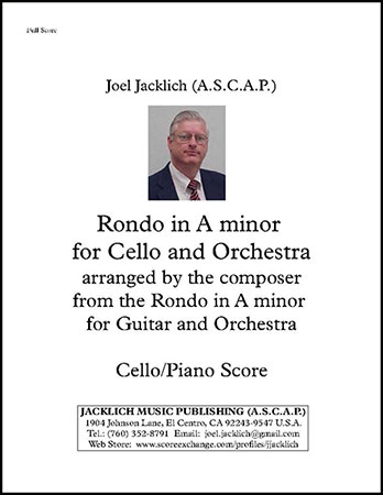 Rondo in A minor for Cello and Orchestra (Cello and Piano Version)
