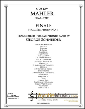 Symphony No. 1 Finale
