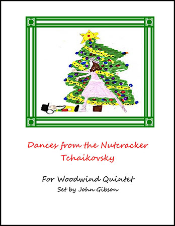 Dances from The Nutcracker for Woodwind Quintet