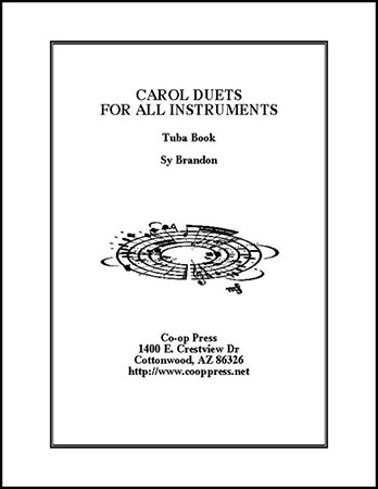 carol duets for all instruments Tuba book