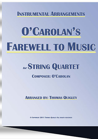 O Carolan's Farewell To Music