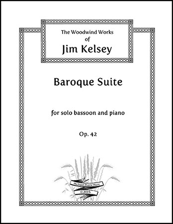 Baroque Suite for Bassoon and Piano, Op. 42