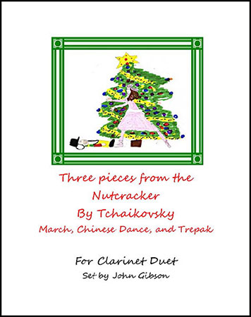 3 Pieces from The Nutcracker - Flute Duet