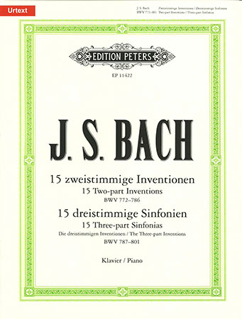 15 Two-Part Inventions, BWV 772-786; 15 Sinfonias, BWV 787-801