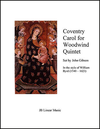 Coventry Carol for Woodwind Quintet