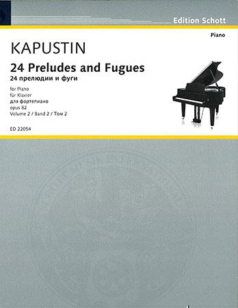 24 Preludes and Fugues, Op. 82, Vol. 2