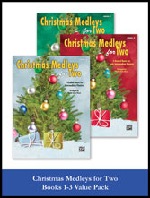 Christmas Medleys for Two, Books 1-3