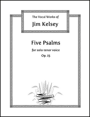 Five Psalms, Op. 15