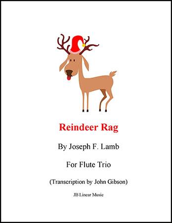 Reindeer Rag for Flute Trio
