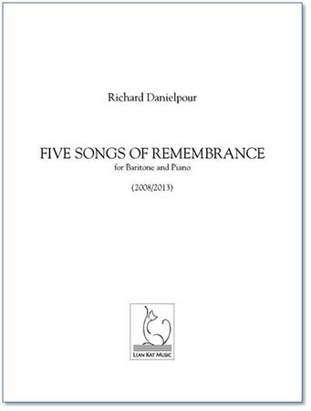 Five Songs of Remembrance Cover