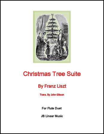 Christmas Tree Suite for Flute Duet