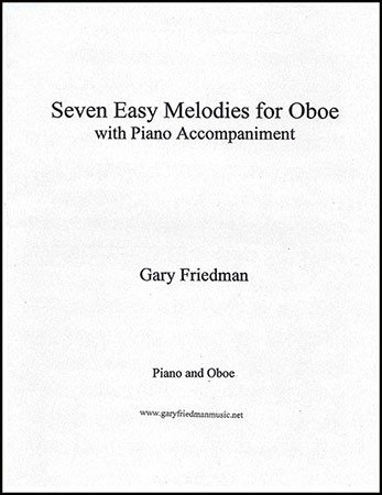 Seven Easy Melodies for Oboe with Piano Accompaniment
