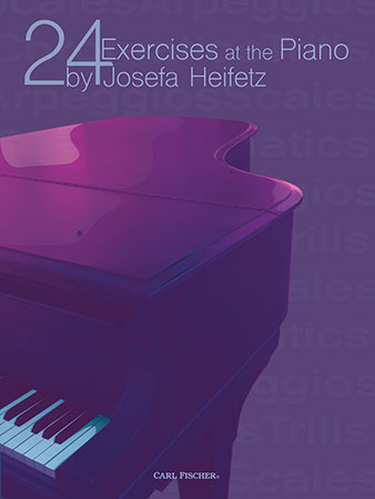24 Exercises at the Piano