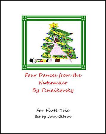 Flute Trio 4 Dances from The Nutcracker