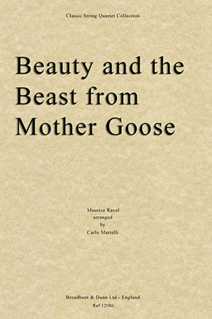 Beauty and the Beast from Mother Goose