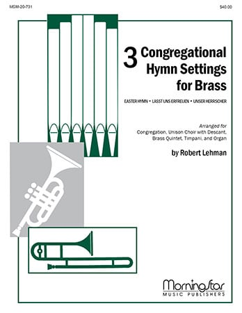Three Congregational Hymn Settings for Brass
