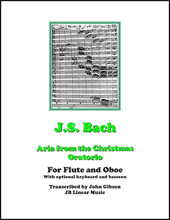 Aria from Bach's Christmas Oratorio
