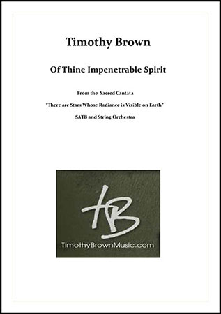 Of Thine Impenetrable Spirit