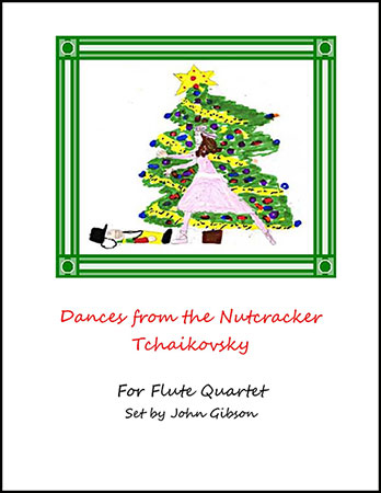 Dances from The Nutcracker for Flute Quartet