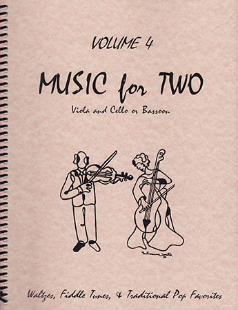 Music for Two #4 Waltzes, Fiddle Tunes, & Traditional Pop Favorites Cover