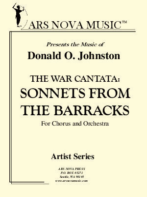 The War Cantata: Sonnets from the Barracks