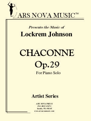 Chaconne, Op. 29