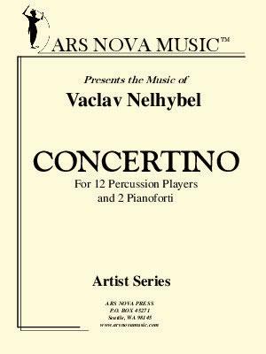 Concertino for Percussion and Two Pianoforte