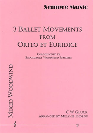 Three Ballet Movements from Orfeo et Euridice