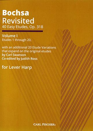 Bochsa Revisited: 40 Easy Etudes, Op. 318, Vol. 1