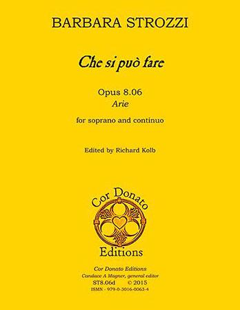 Che Si Puo Fare, Op. 8.06