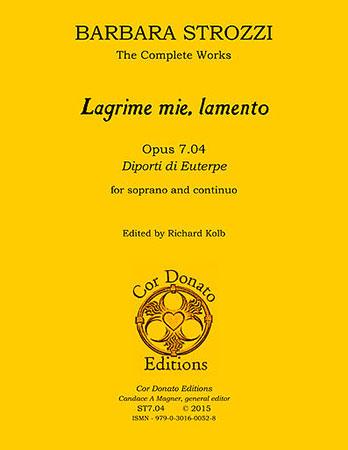 Lagrime Mie, Lamento, Op. 7.04