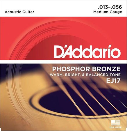 Acoustic Guitar Strings Phosphor Bronze EJ17