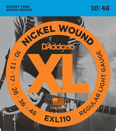 Electric Guitar Strings Nickel Wound XL110