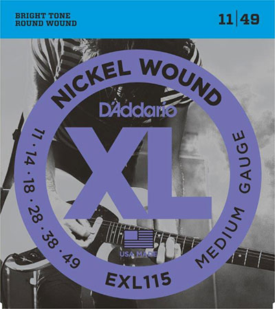 Electric Guitar Strings Nickel Wound XL115