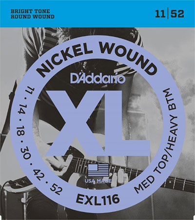 Electric Guitar Strings Nickel Wound XL116