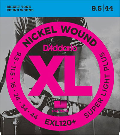 Electric Guitar Strings Nickel Wound XL120+