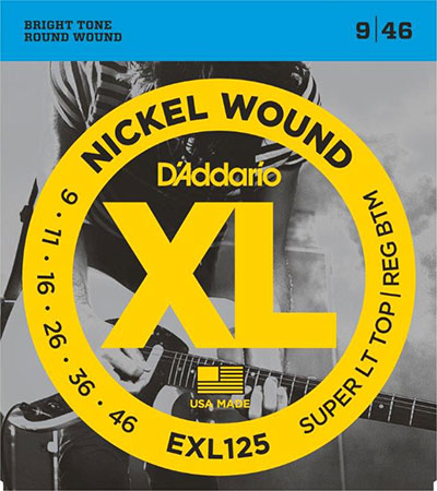 Electric Guitar Strings Nickel Wound XL125