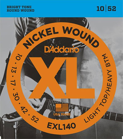 Electric Guitar Strings Nickel Wound XL140