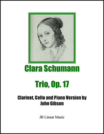 Clara Schumann Trio for Clarinet, Cello, and Piano
