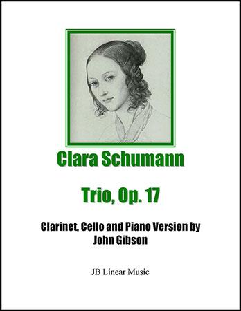 Clara Schumann Trio for Clarinet, Cello, and Piano