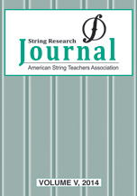 String Research Journal #4 2014