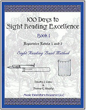 100 Days to Sight Reading Excellence, Book 1