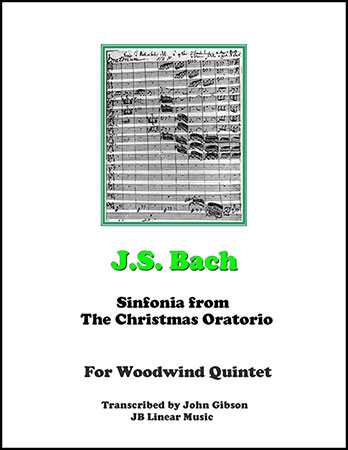 Sinfonia from the Christmas Oratorio - Wind Quintet