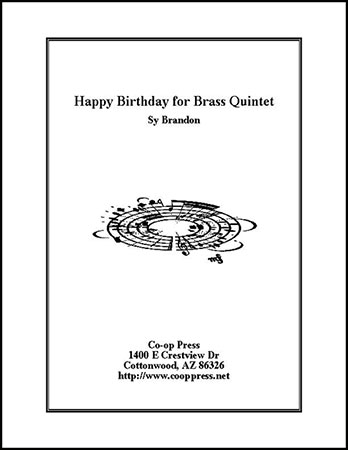 Happy Birthday for Brass Quintet Thumbnail