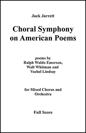 Choral Symphony on American Poems