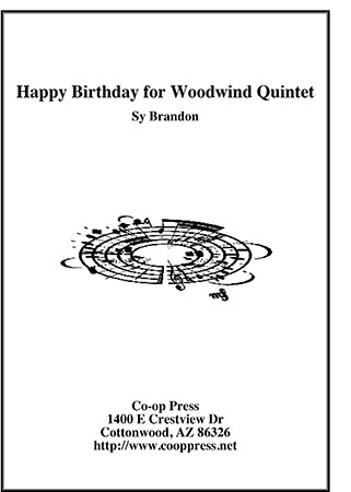 Happy Birthday for Woodwind Quintet