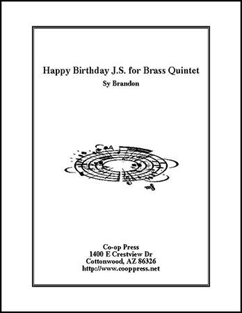 Happy Birthday J.S. for Brass Quintet Thumbnail