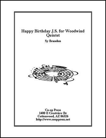 Happy Birthday J.S. for Woodwind Quintet Thumbnail